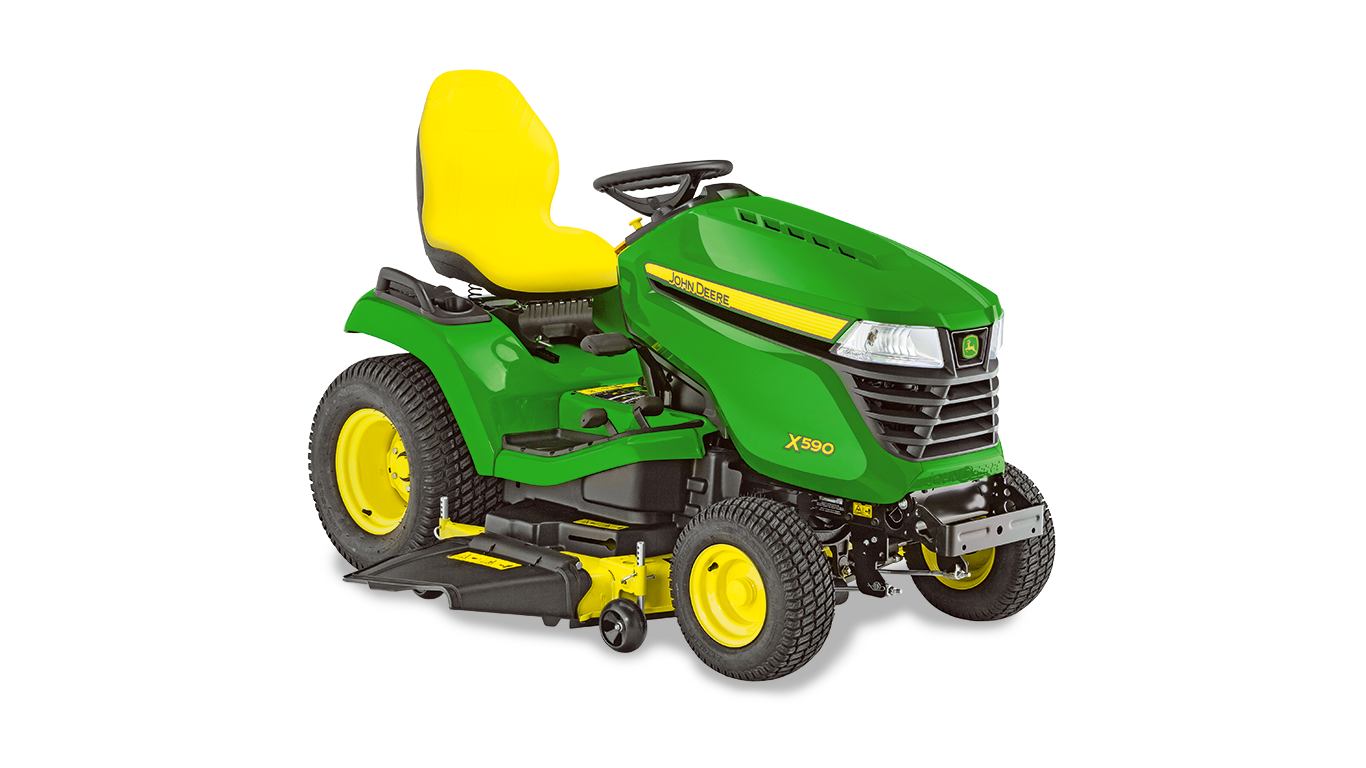 X590, Riding Lawn Equipment, Lawn Tractors