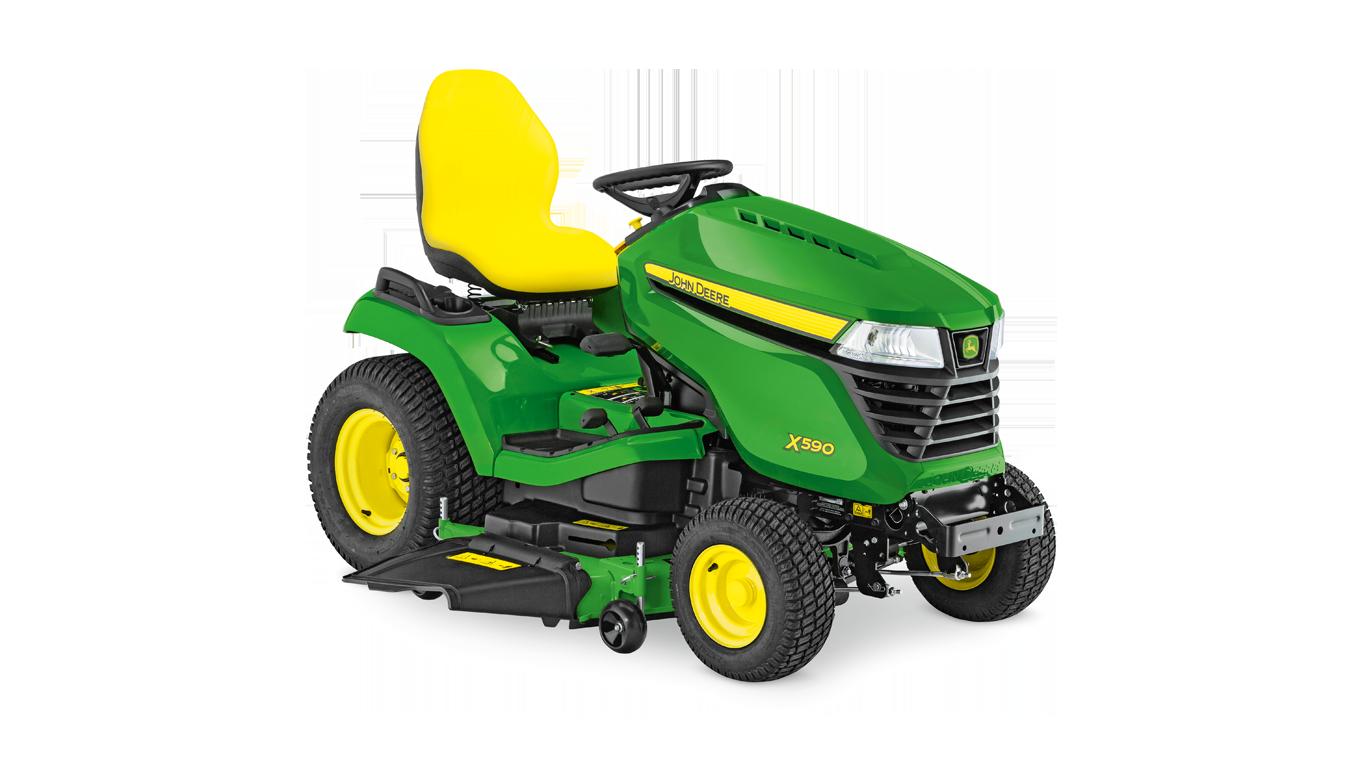Maszyny samojezdne do pielęgnacji trawników, ciągniki do trawników, X590