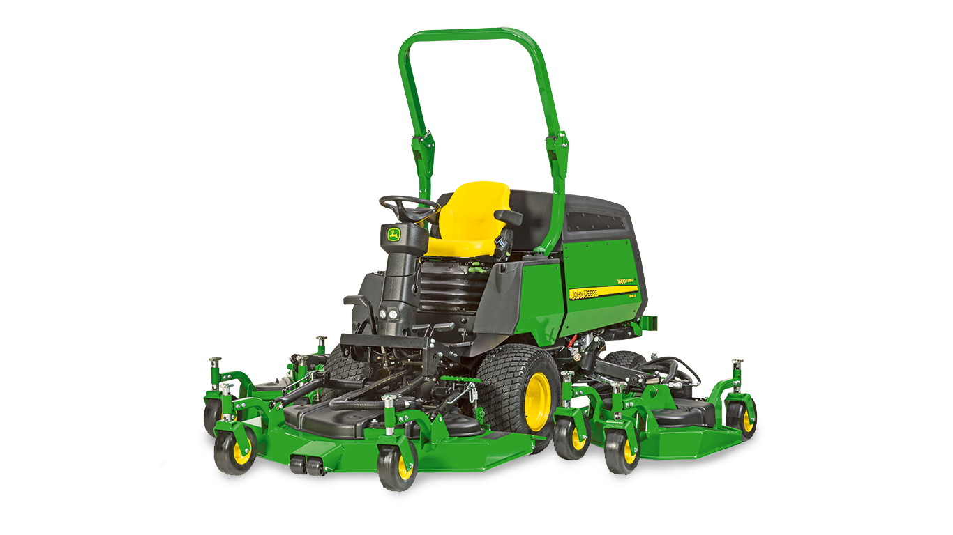 Commercial Mowing, Series III, Wide-Area Mowers 1600