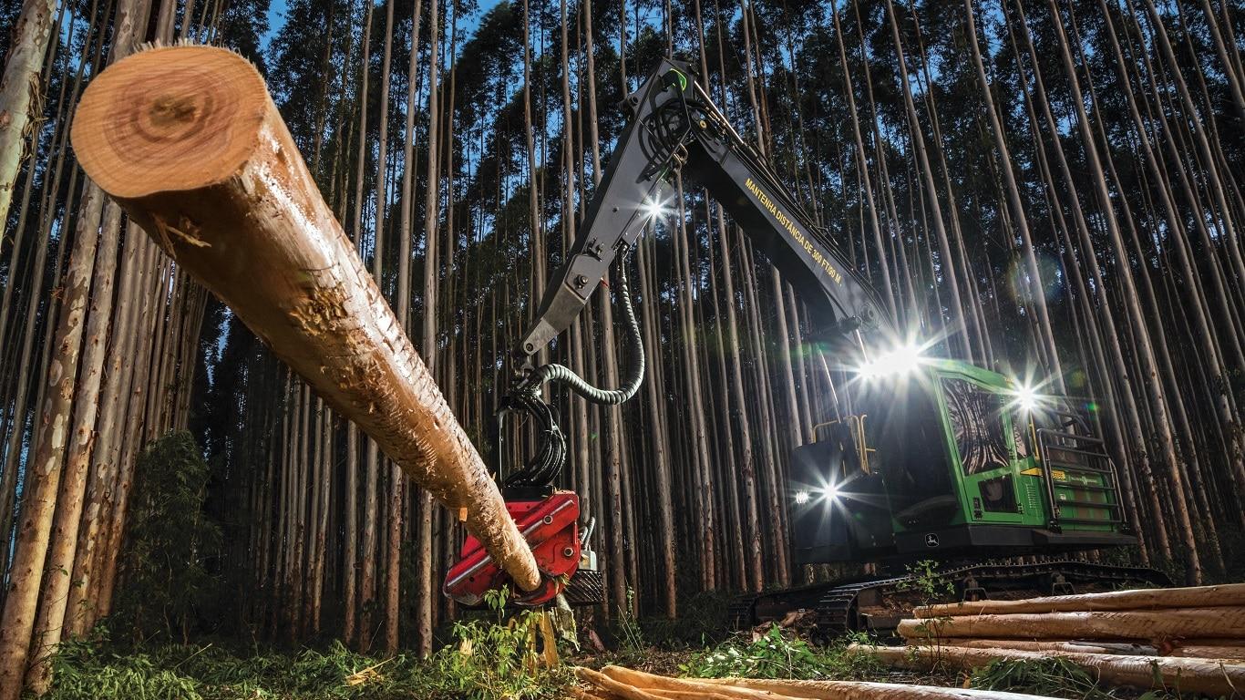 Лизинг лесозаготовительной техники