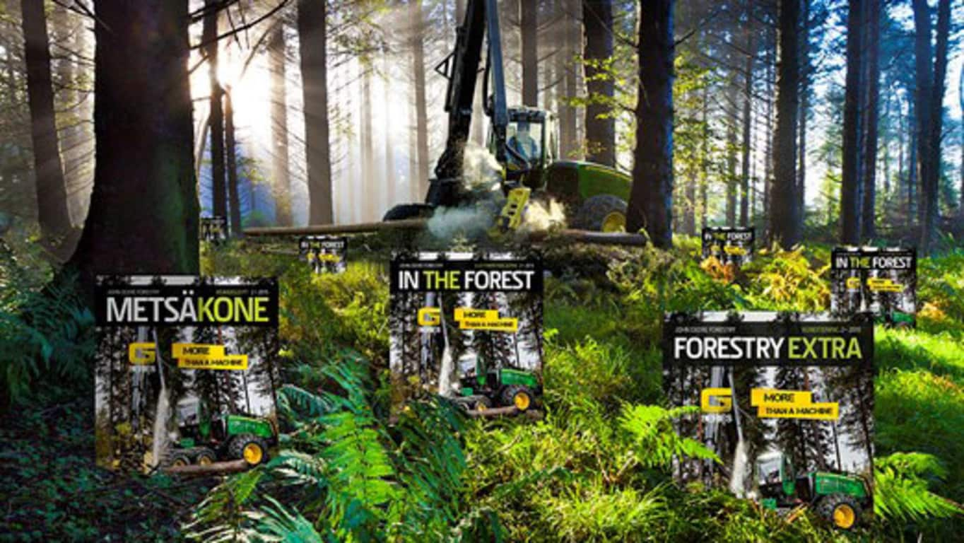 John Deere Forestry Kundenmagazin heisst In The Forest