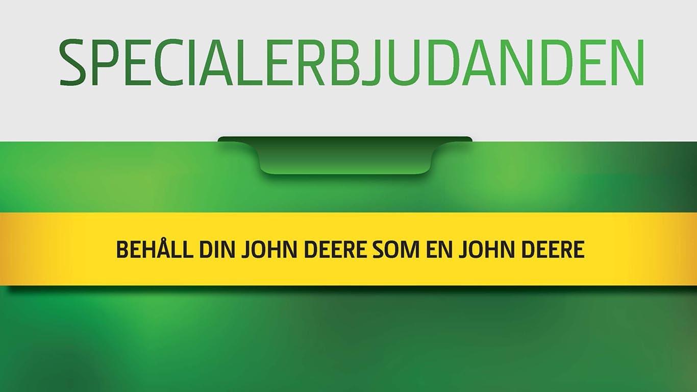 John Deere Forestry tillbehörskampanj