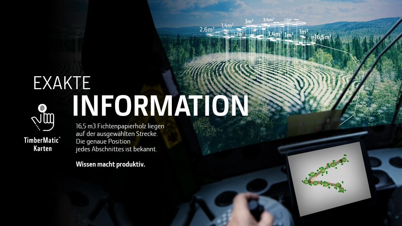 TimberMatic Karten und TimberManager