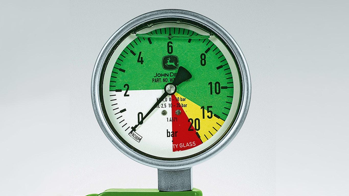 Onderdelen en service: Drukmeter