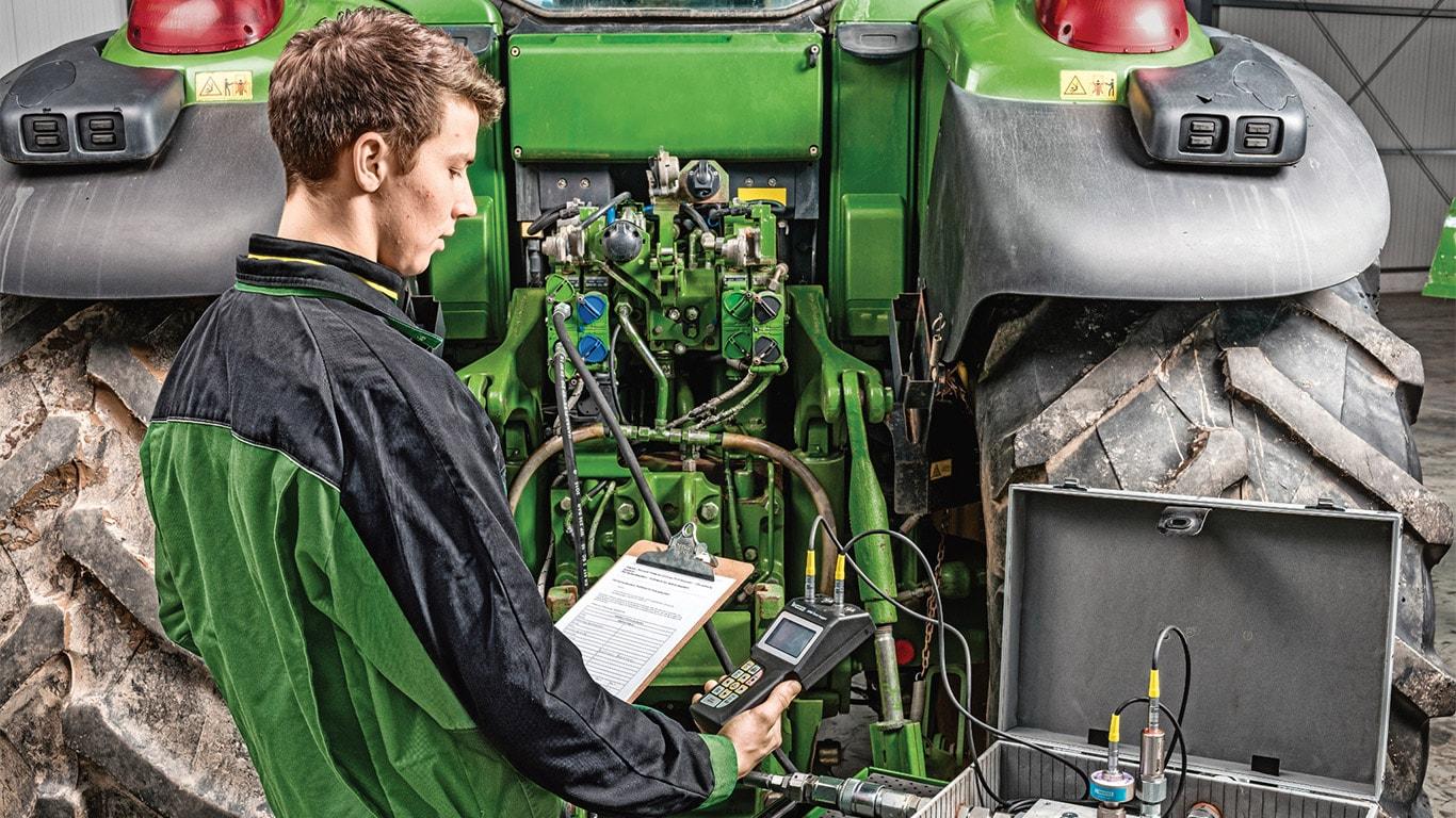 Hydraulpaket för traktorer