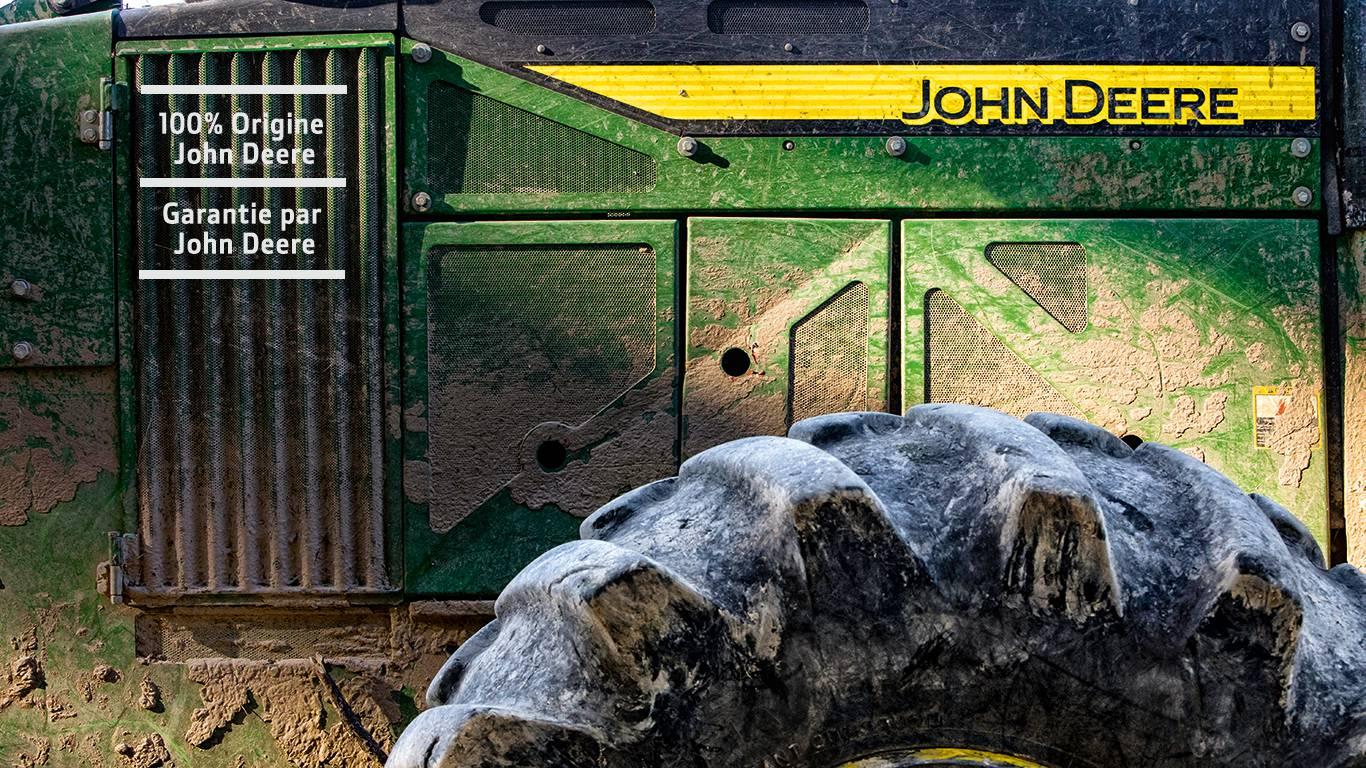John Deere débusqueur