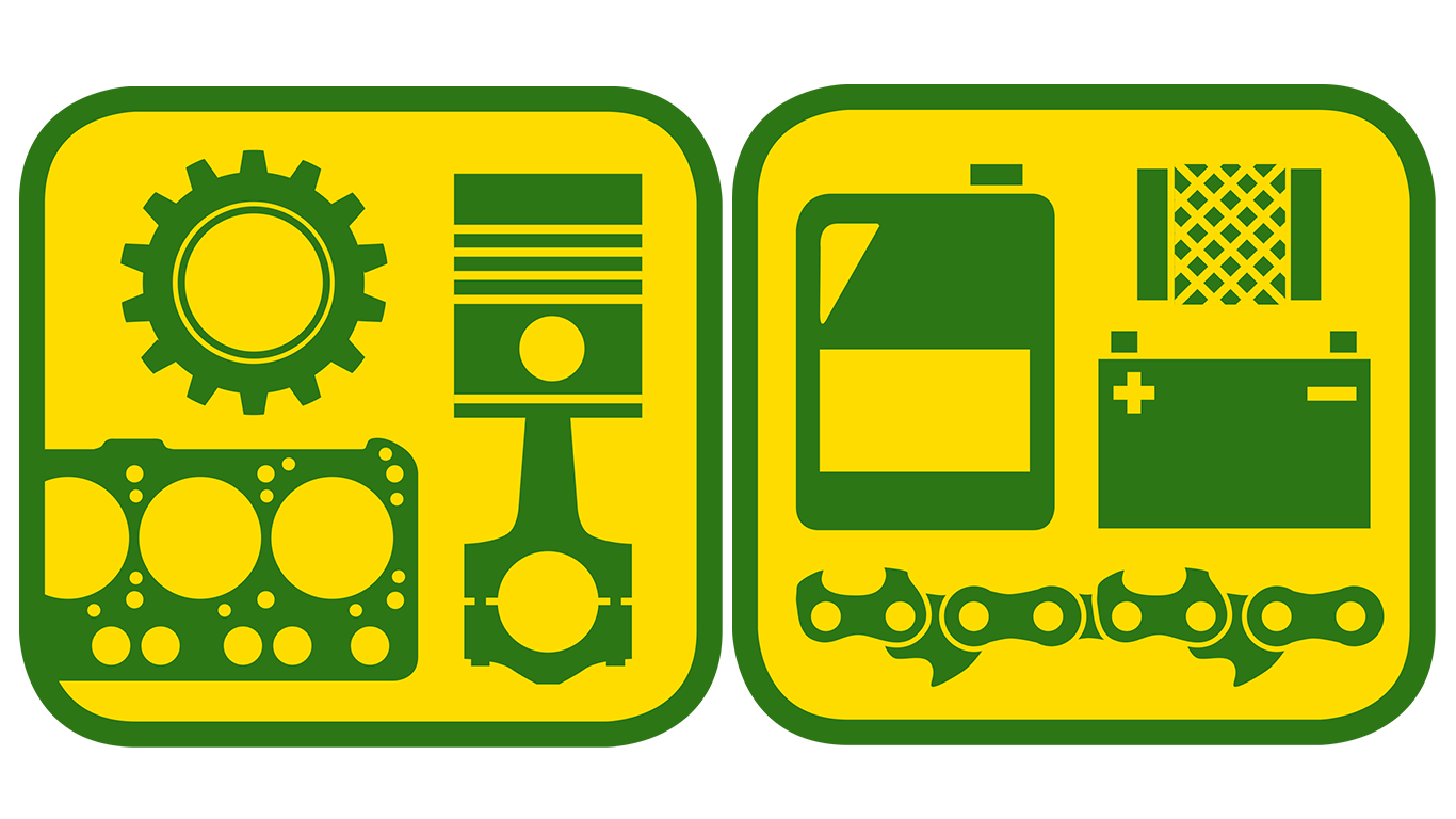Parts and accessoris icons