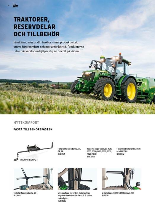 Traktordelar och -utrustning