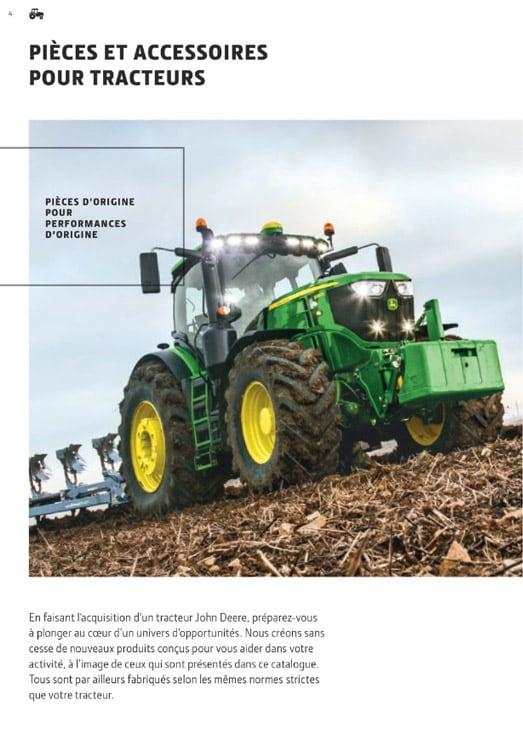 Pièces et accessoires pour tracteurs