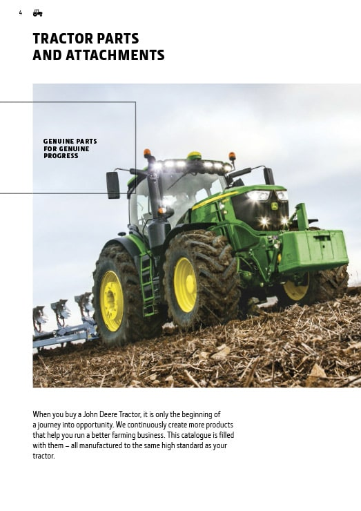 Tractor parts and attachments