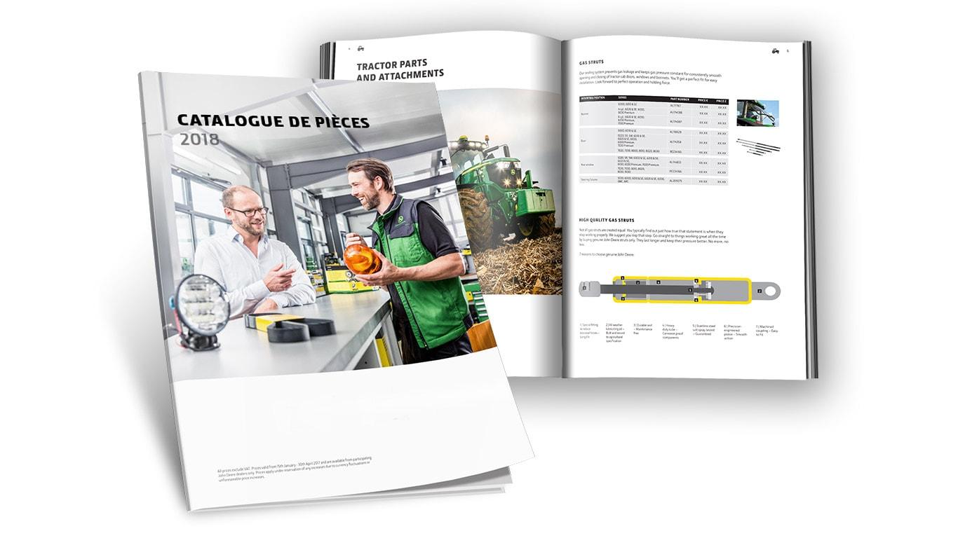 Catalogue de pièces2018