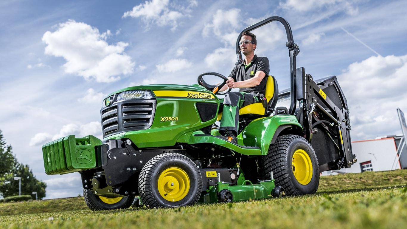Les tracteurs de jardin JohnDeere: découvrez le nouveau visage de la performance