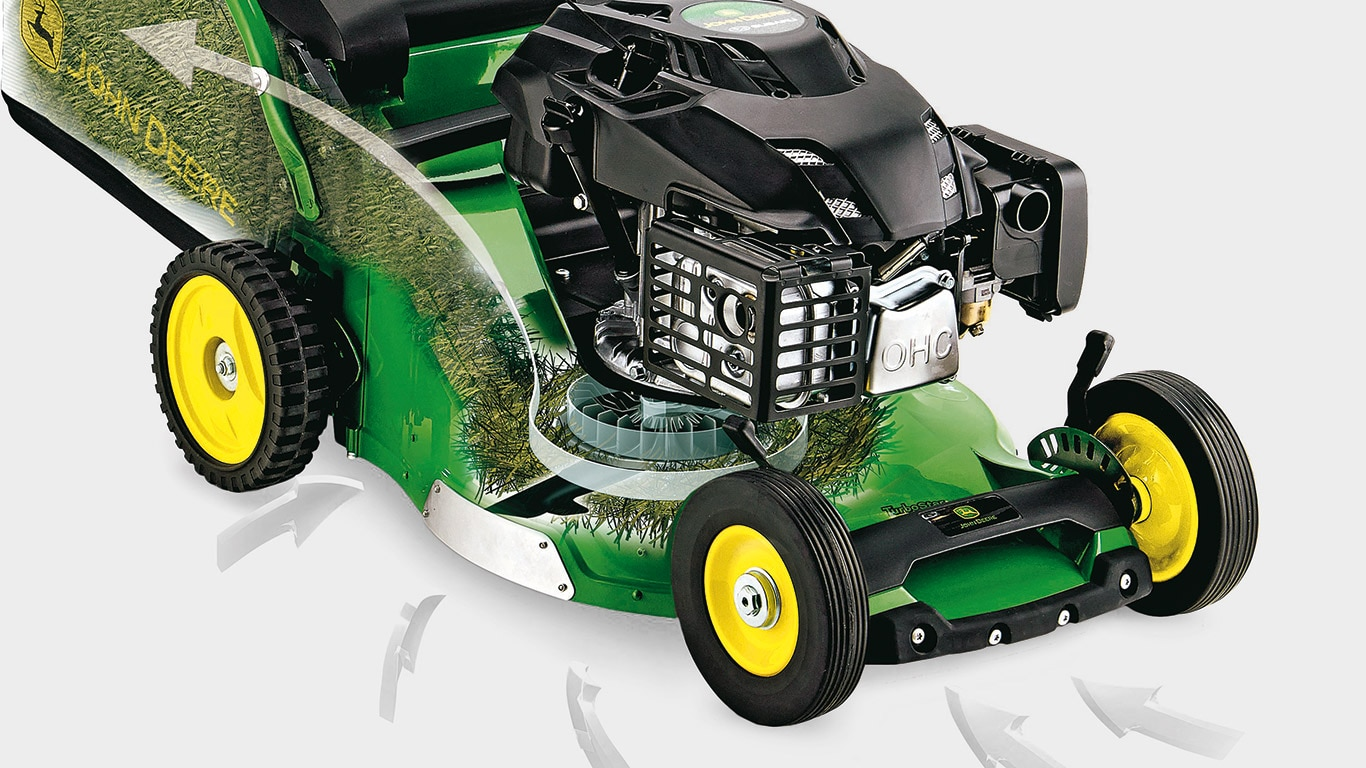 Pro47V, Walk-Behind Mowers, TurboStar System