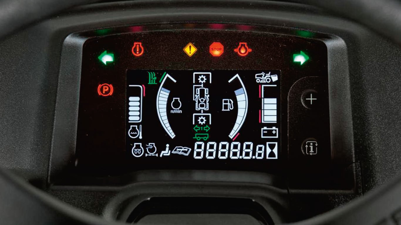 X950R Digital Dashboard
