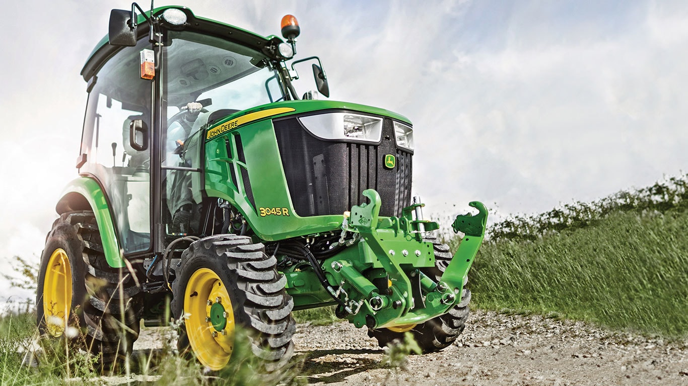 3 Series Compact Utility Tractors