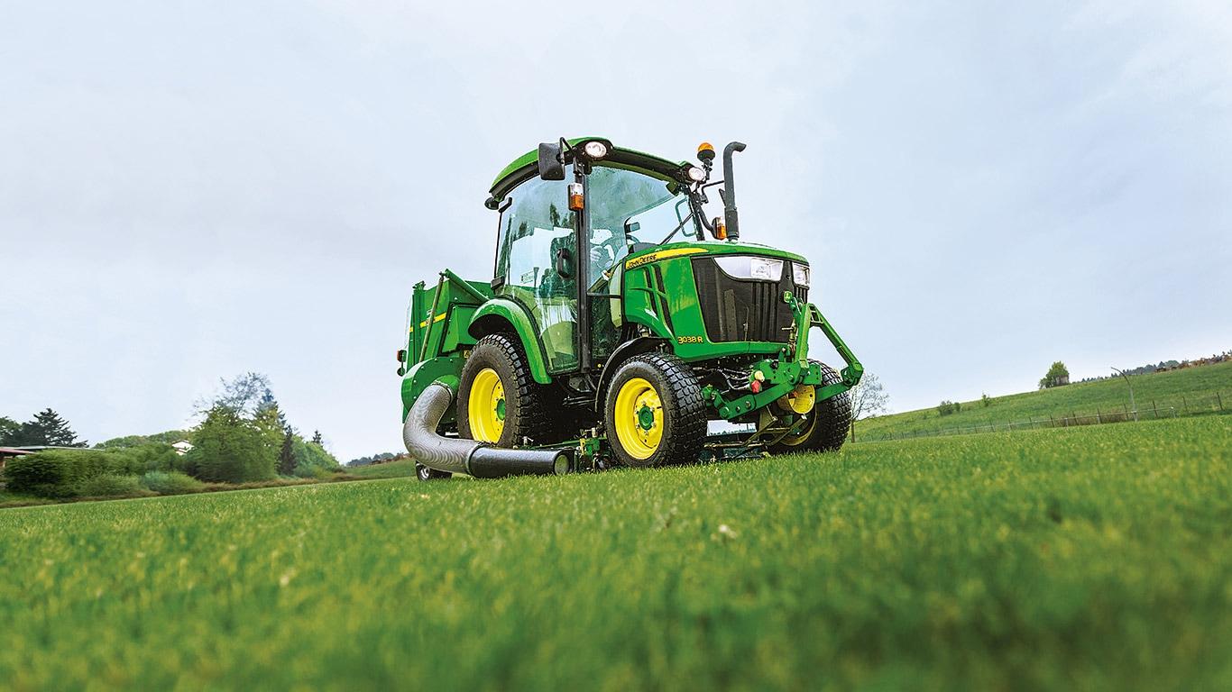 Serie 3, tractores utilitarios compactos, campo
