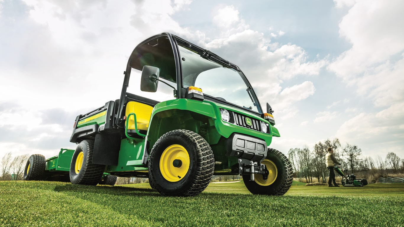 Gator Utility Vehicles, TE 4X2, Fully Independent Suspension