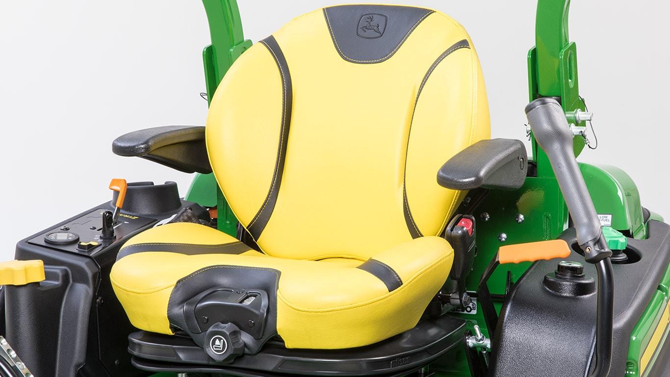 Null-Wenderadius-Mäher für private Rasenpflege, SerieZ900R, ComfortGlide-Sitz