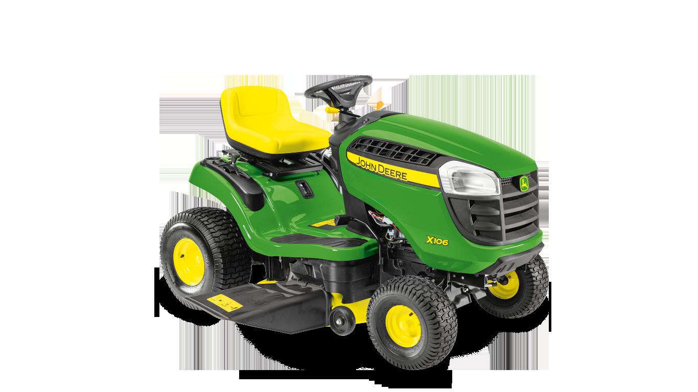 X106 Aufsitz-Rasenmäher