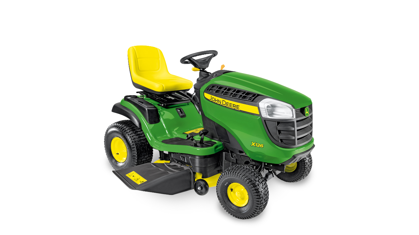 X126 Aufsitz-Rasenmäher