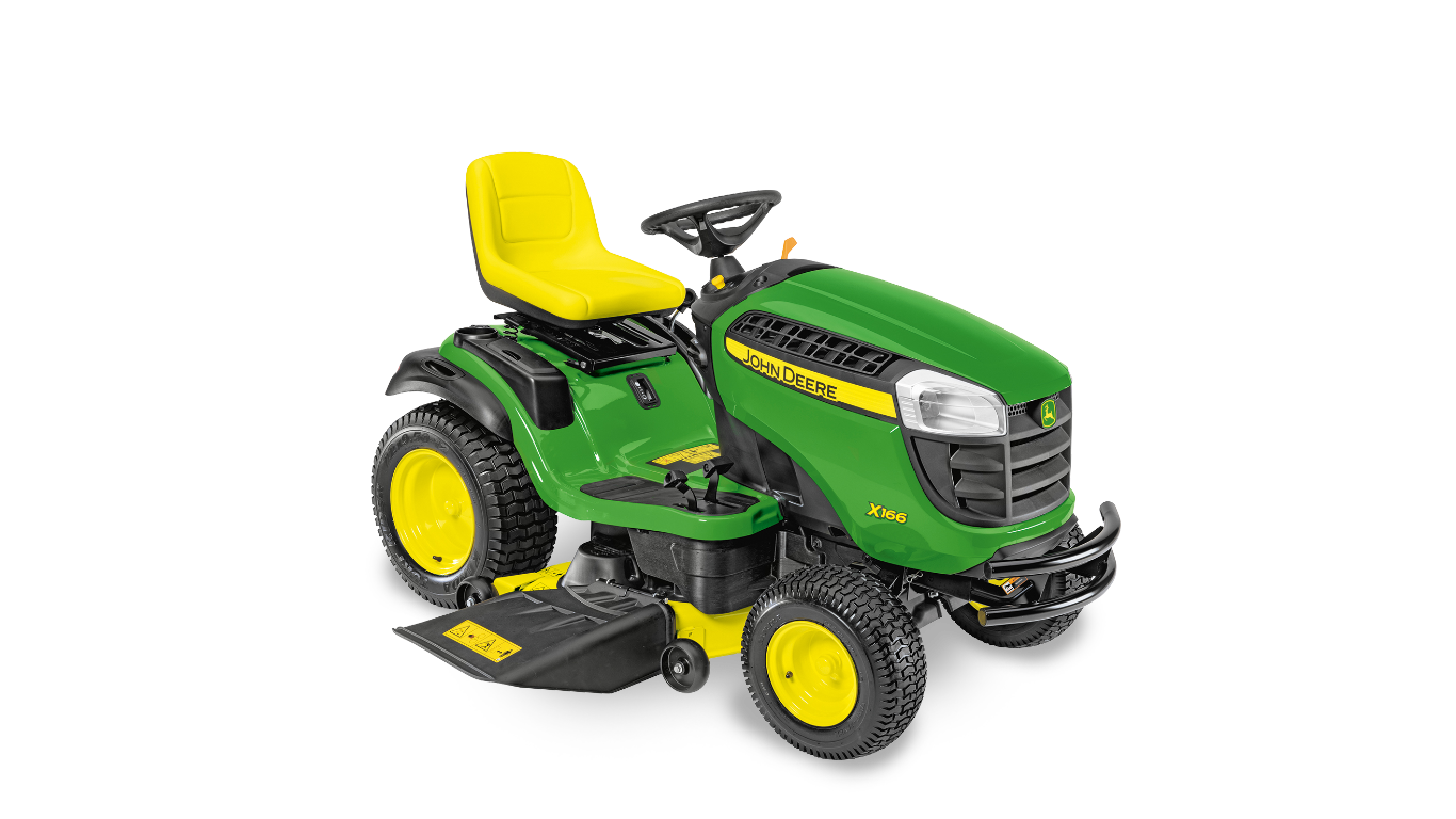 X166 Tondeuses autoportées et tracteurs de jardin