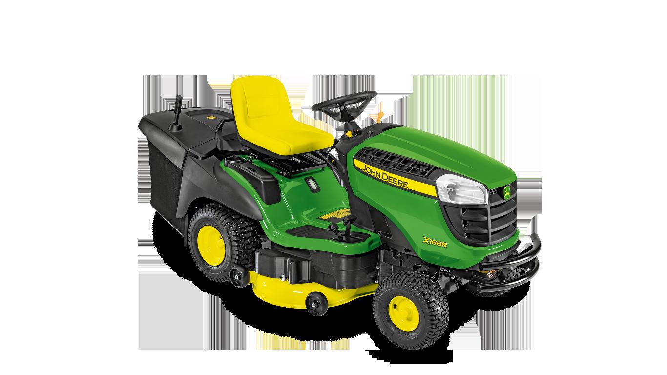 X166R Equipo de jardinería con asiento