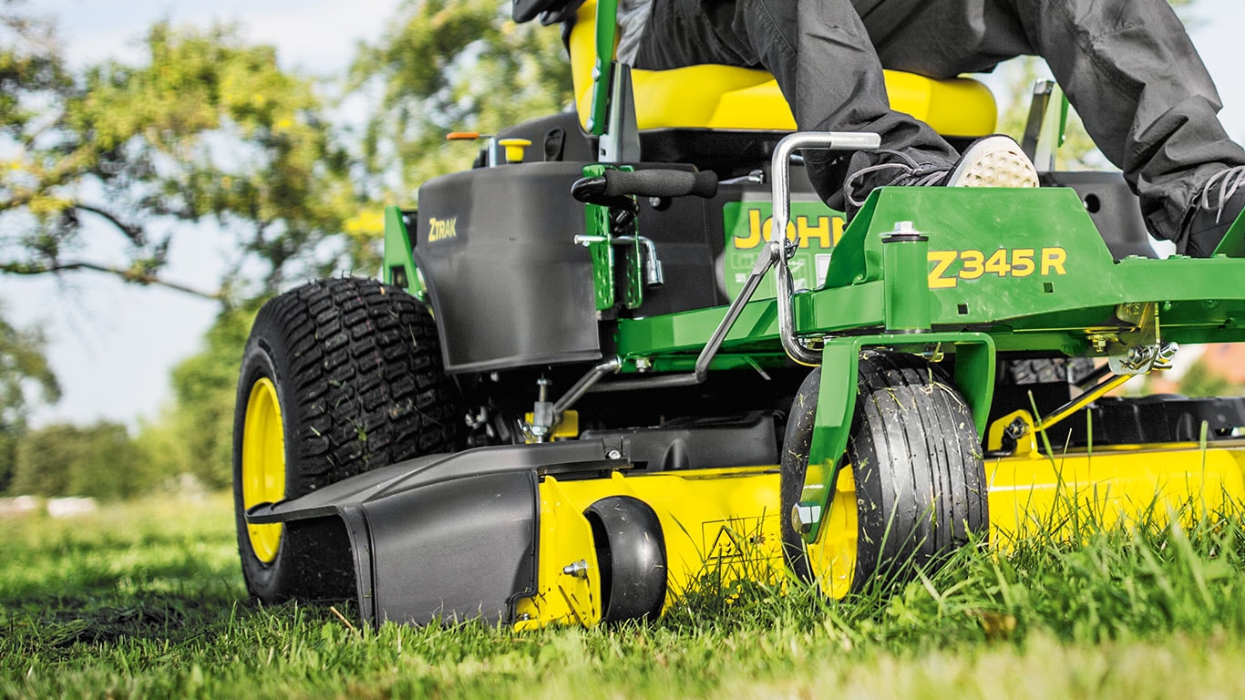 Ztrak Commercial Zero Turn Mowers, Foot Deck Lift