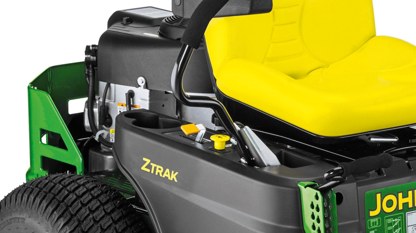 Ztrak Commercial Zero Turn Mowers Modern Dash Layout