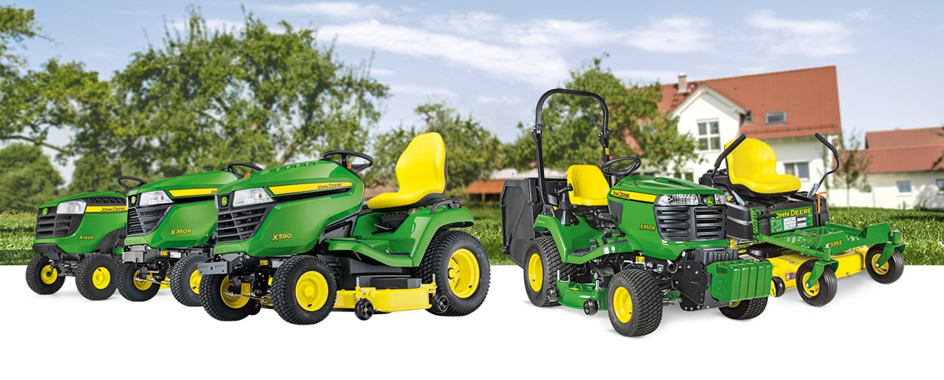 Landscape Riding lawn equipment