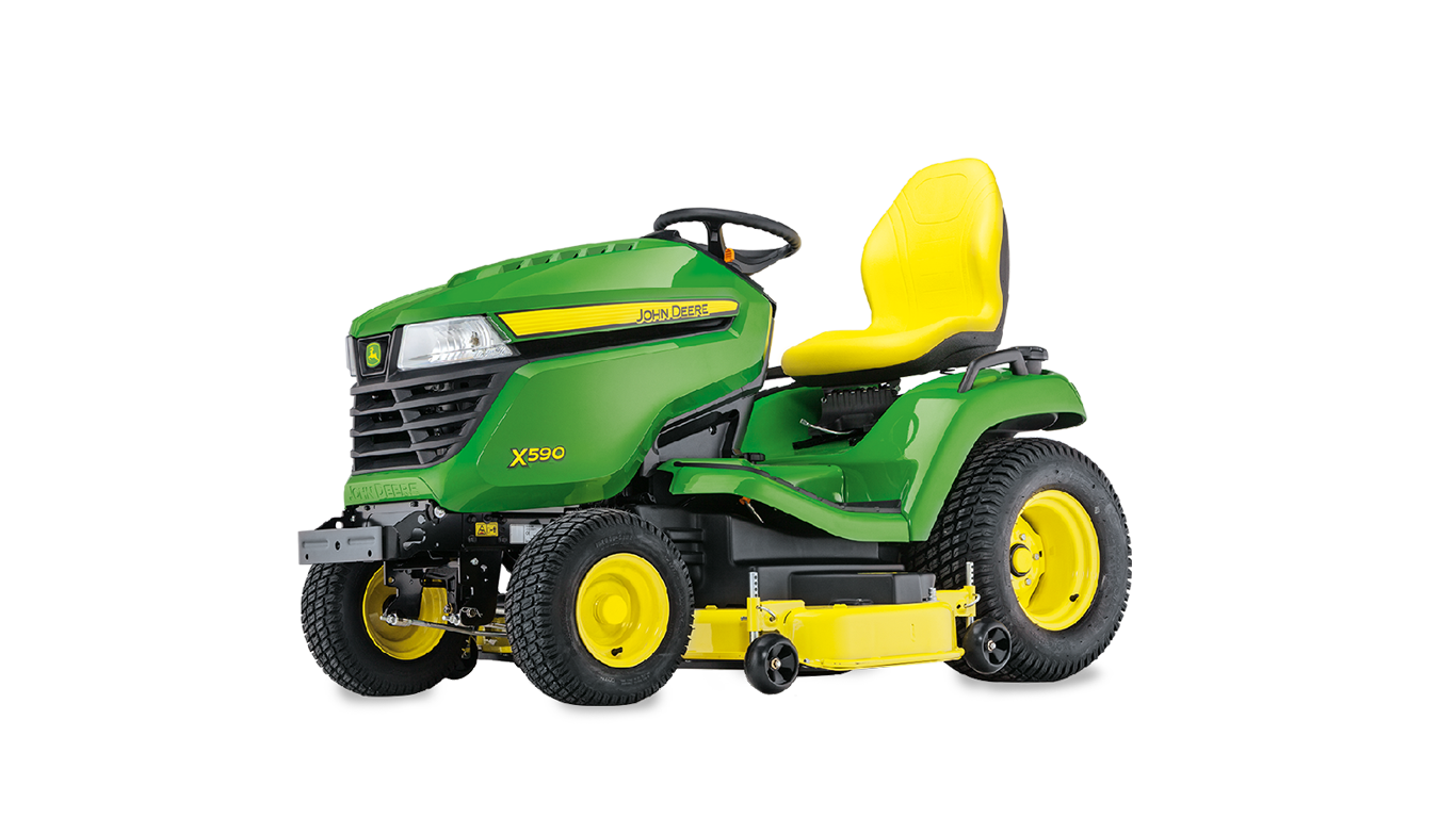 X590, X500 Series, Riding Lawn Equipment, Lawn Tractors
