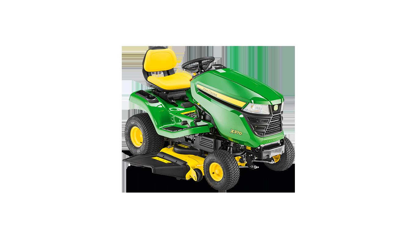 X370 Tondeuses autoportées et tracteurs de jardin