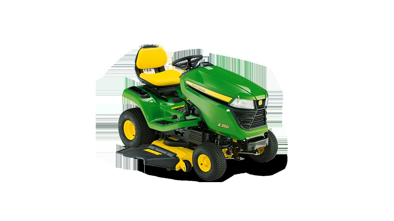 X350 Tondeuses autoportées et tracteurs de jardin