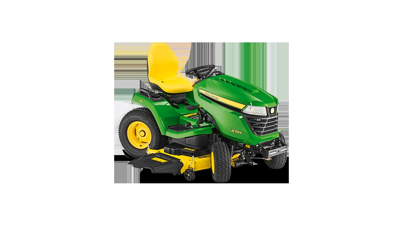 X584 Tondeuses autoportées et tracteurs de jardin