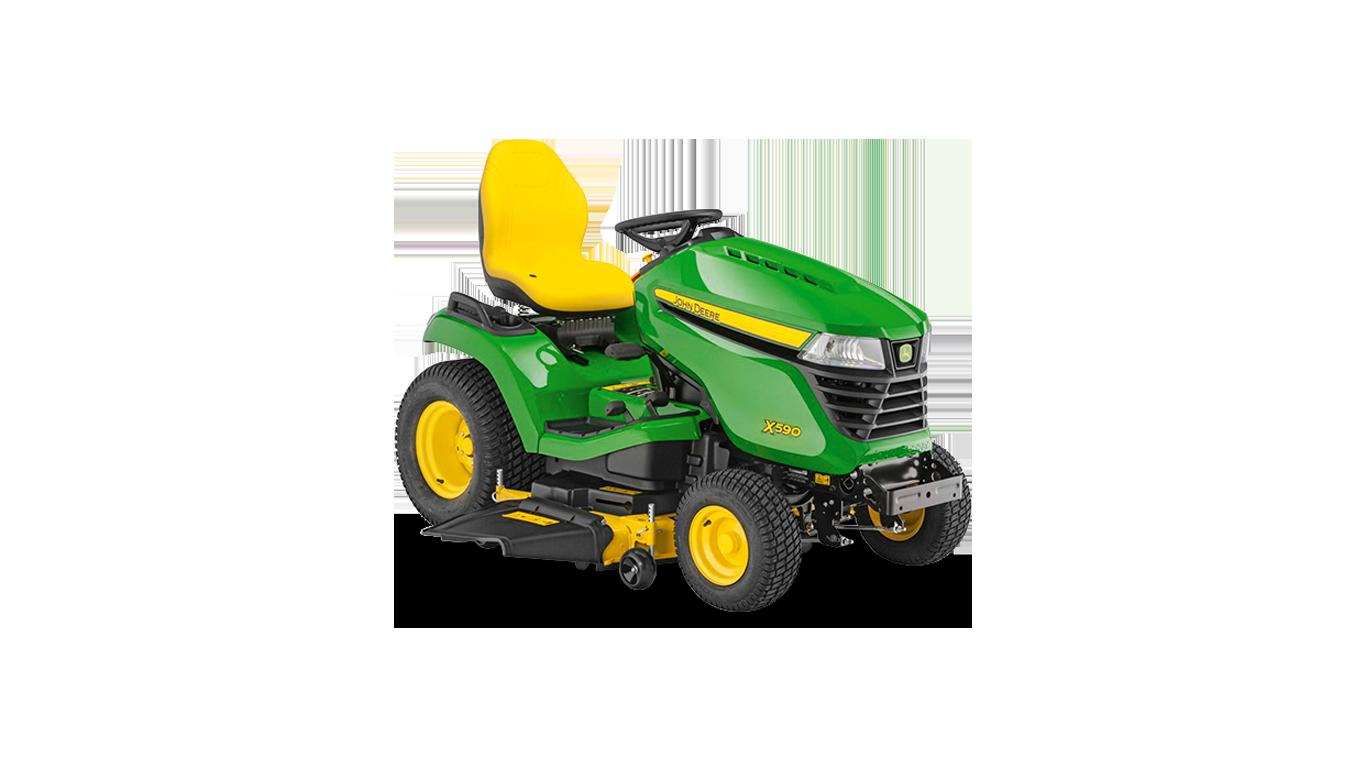 X590 Tondeuses autoportées et tracteurs de jardin