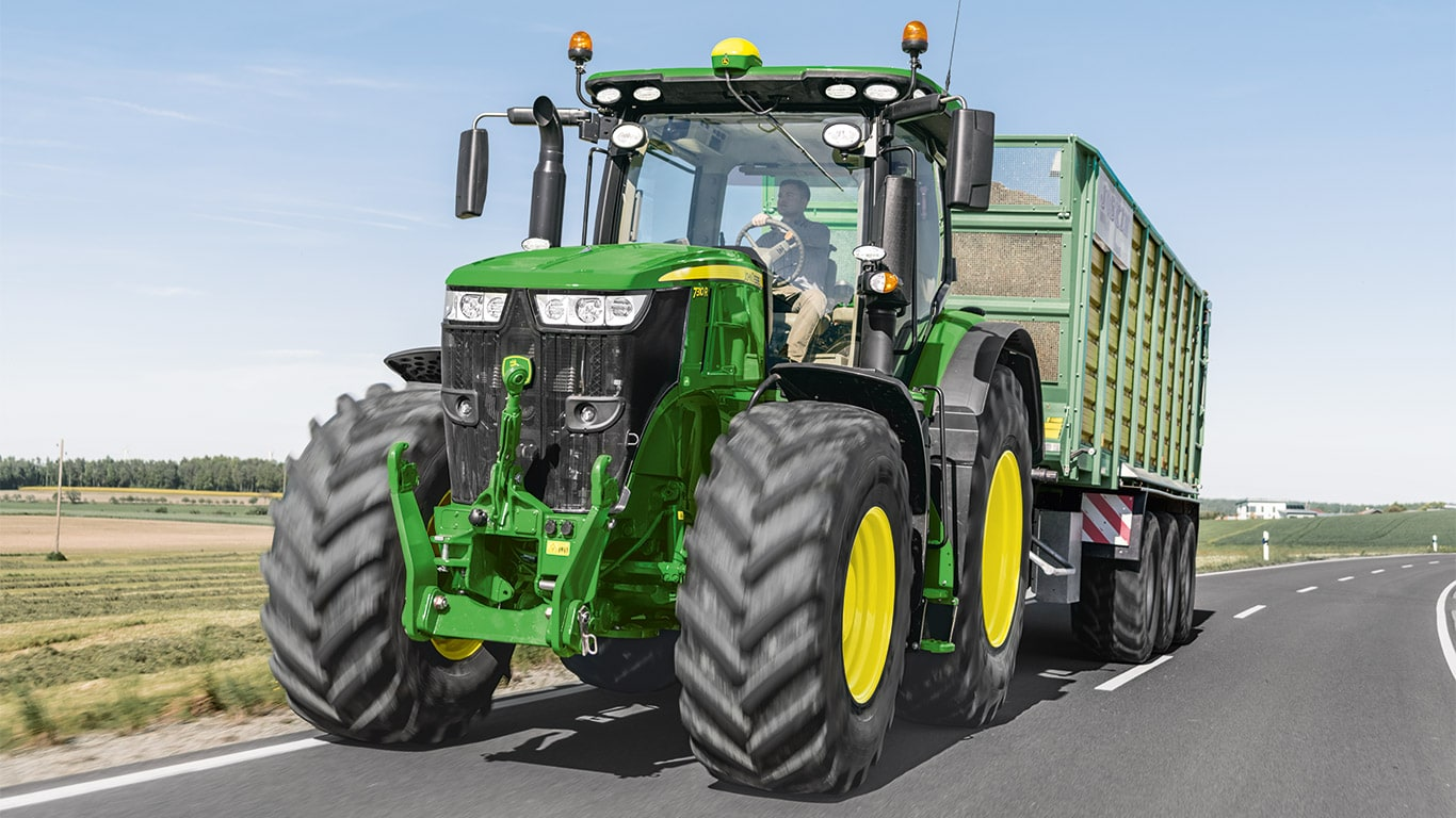 7R Series of large farm tractors by John Deere
