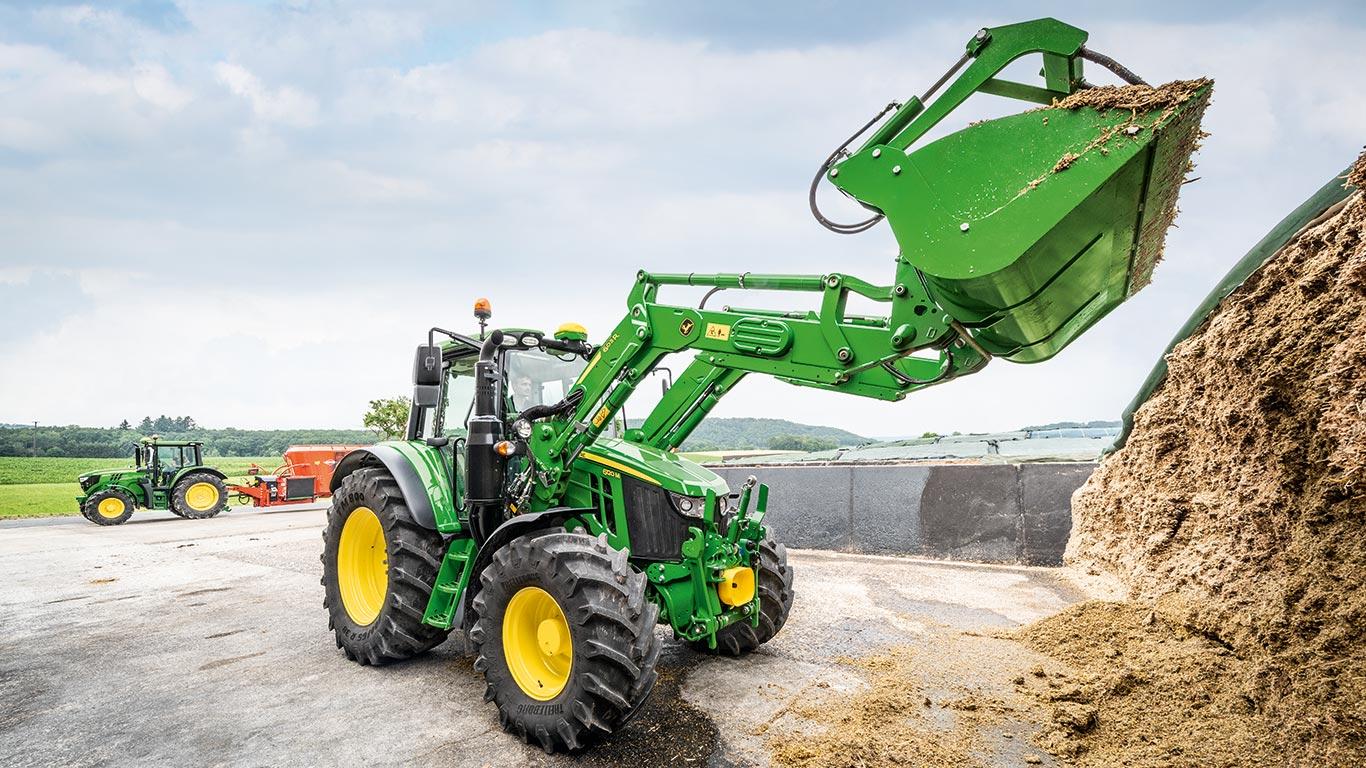 Tractores de la serie 6M