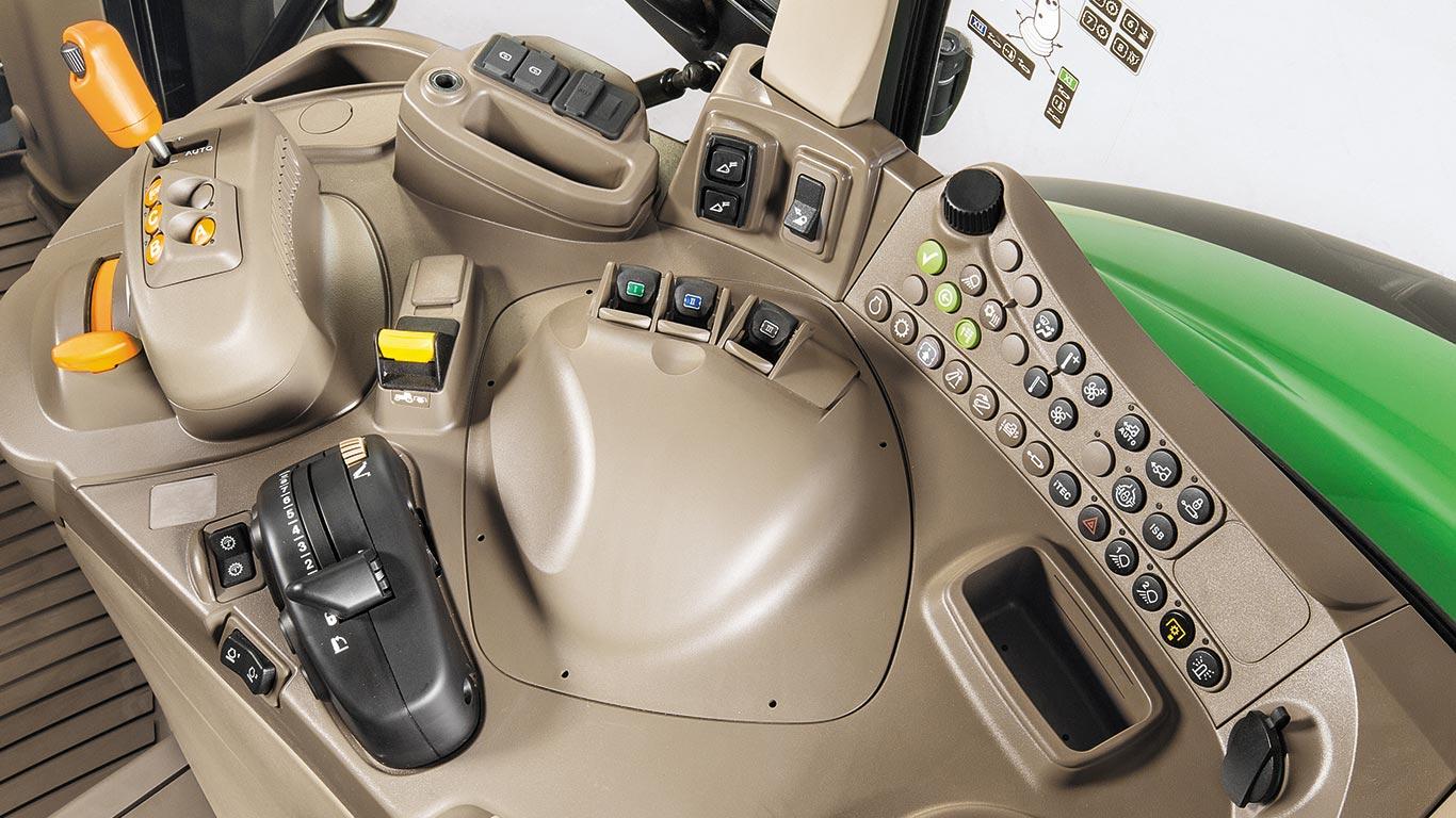 6M-serien höger reglagekonsol