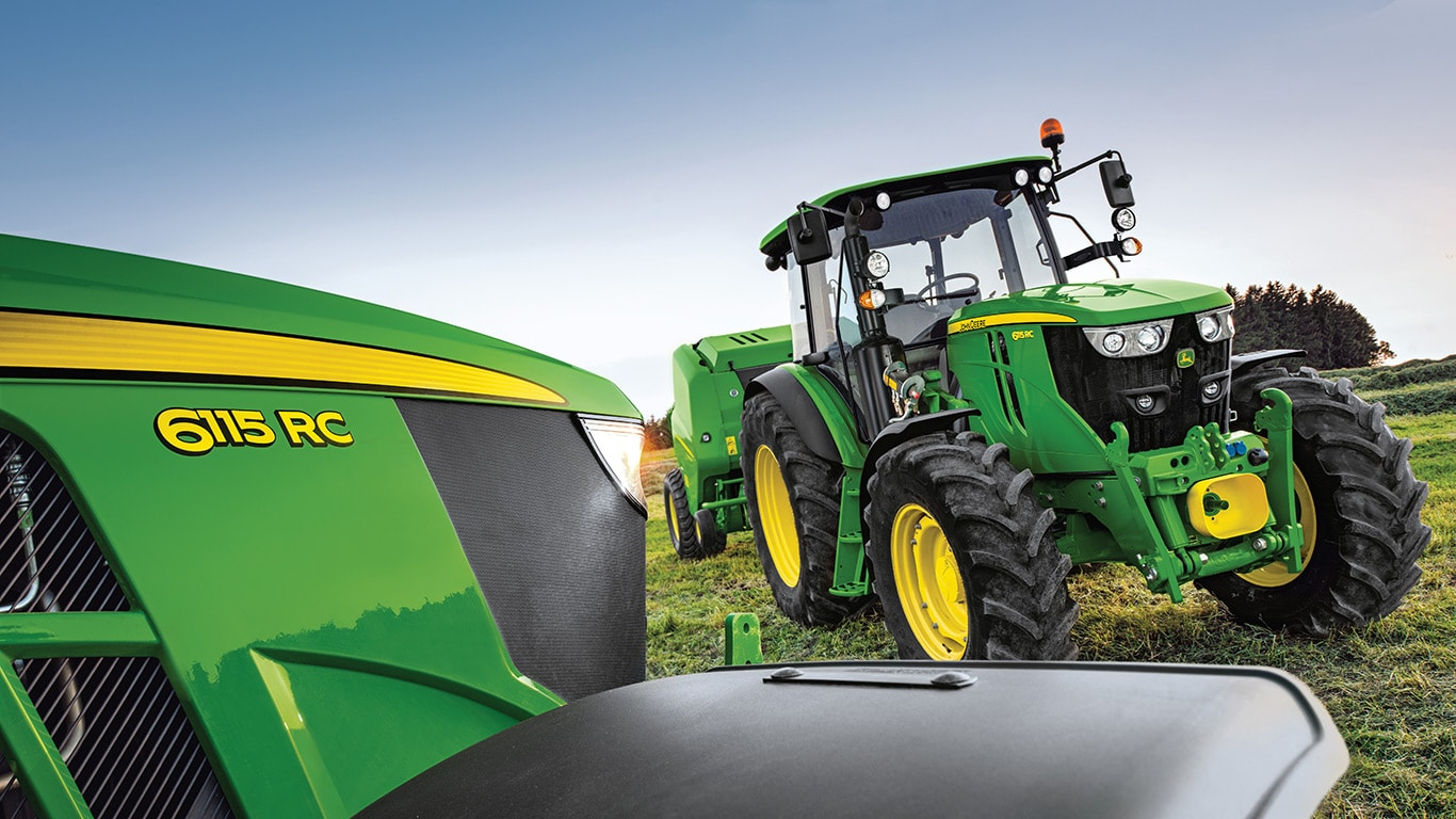 6MC/RC series of mid size tractors by John Deere