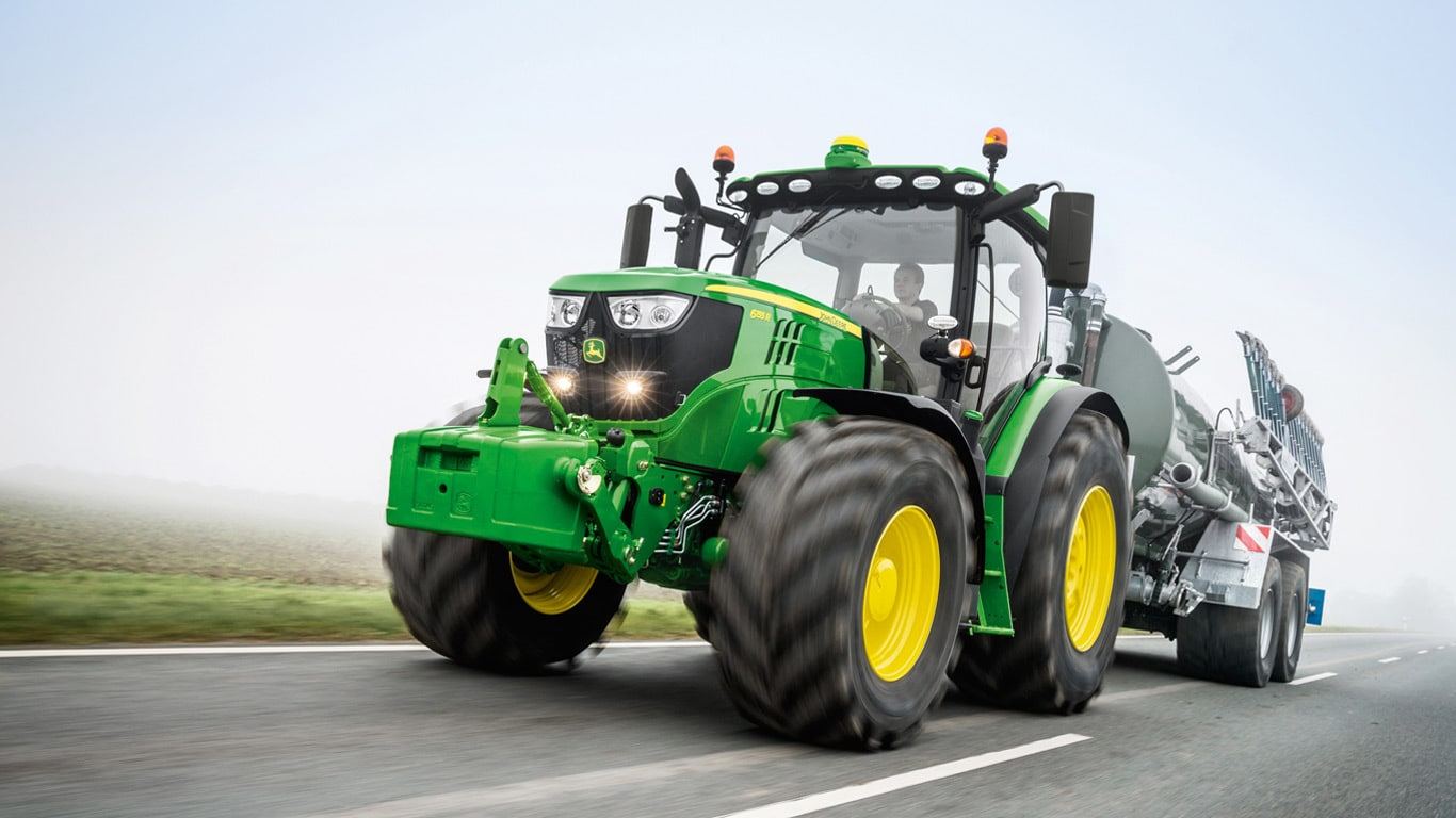 6R Series  of mid size farm tractors by John Deere