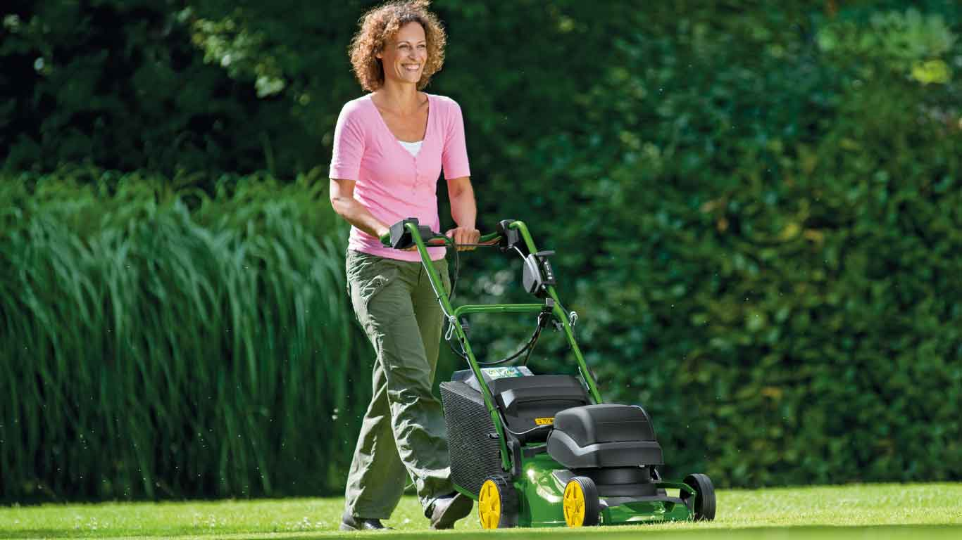 R43EL, Walk-Behind Electric Mower